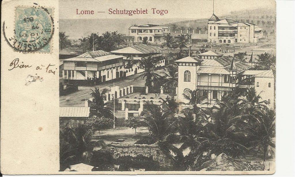 Lomé au Togo durant la période coloniale